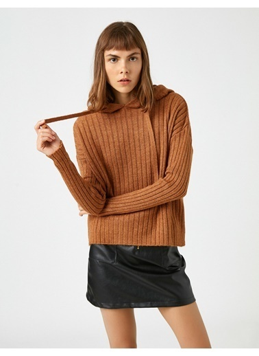 Koton Materiel: %80 Akrilik, %20 Polyester,Height:177,Waist:56,Breast:80,Beam:87,Gender:Kadın Kahve